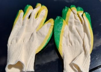 Рабочие перчатки двойной облив