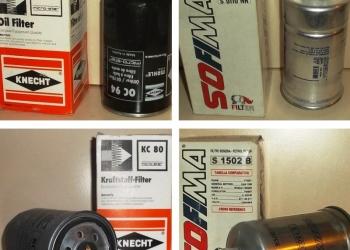 Фильтры автомобильные (топливные, масляные, воздушные)