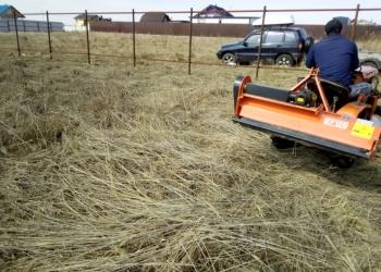 Расчистка участка, покос травы в Рузе