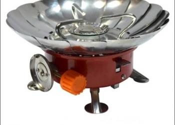 Печь трансформер с ветрозащитой Малый Лепесток
