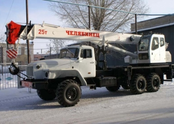 Услуги автокрана-вездехода 25т в Екатеринбурге