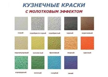 Краска 3 в 1 по ржавчине с молотковым эффектом, декоративные краски по металлу Ц