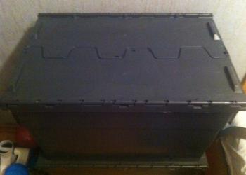 Пластиковый ящик б/у