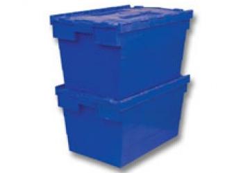 Б/у пластиковый ящик