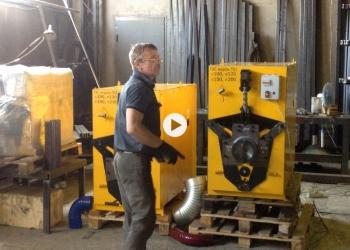 Станок гофроколено для производства водосточных и вентиляционных отводов, универ