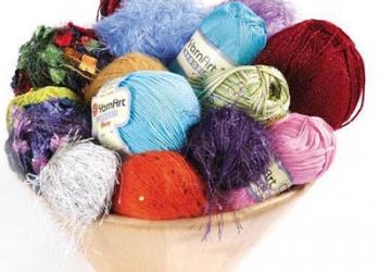 Пряжа для ручного и машинного вязания Товары для рукоделия. Вышивка. Валяние.