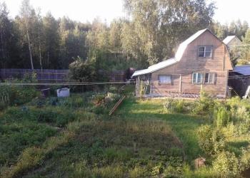 Продается земельный участок с садовым 2-х этажным домиком