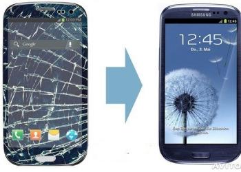Замена стекла Samsung Galaxy S3, S4, note....