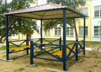 Ворота,оградка,беседка.забор