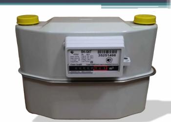 Прибор учета газа (счетчик газа) BK-G6TV2