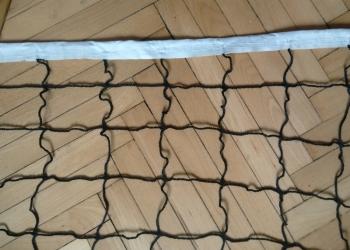 Сетка волейбольная с тросом стальным