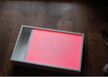световой стол( планшет) для рисования песком