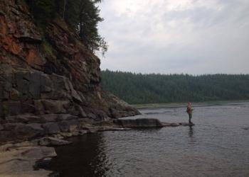 Рыболовный тур на Бахте. Таймень.
