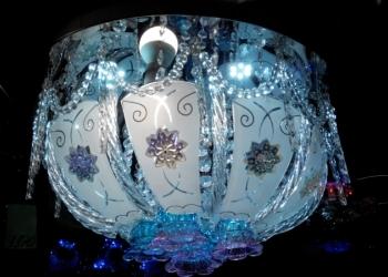 Люстра Led подсветкой и пультом М-09