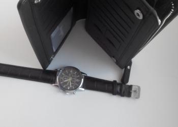 Клатч Baellerri с часами Tissot в наборе