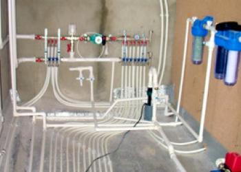 отопление водопровод канализация монтаж
