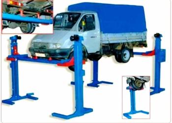 Автомобильный подъемник для грузовых автомобилей