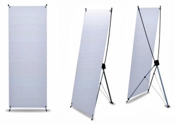 Баннерной стенд Х-БАННЕР (паук), 80×180см