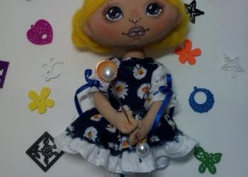 Текстильные куколки в наличии и на заказ