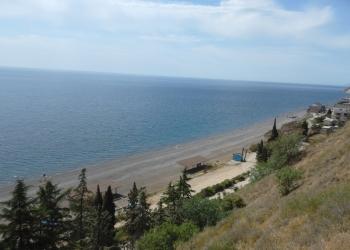 Отдых в Крыму, Алушта, п. Рыбачье.