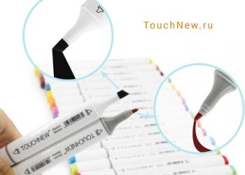 Маркеры Touch NEW - наборы 12, 30, 40, 80, 168 шт