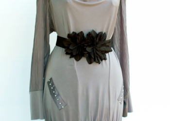 Платье-туника, производство Турция