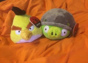 Продам игрушки Angry Birds