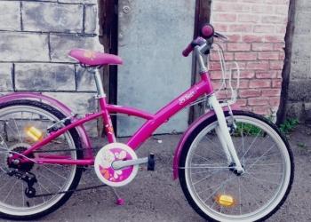 Велосипед для девочки от 5 до 9лет