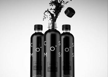 Натуральная Чёрная DETOX вода «COSMOS by NATURALITY»