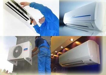 Установка, чистка, заправка, ремонт кондиционеров