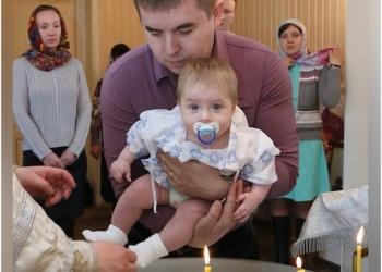 Фотосъемка крещений в Санкт-Петербурге