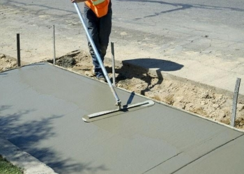 Устройство бетонных полов в гаражах