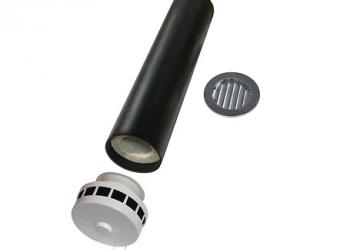 Приточный клапан КИВ-125 (КПВ-125)