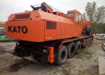 Автокран Kato nk-750ys, г/п 75т, стрела 44м, 1986 г.вып.