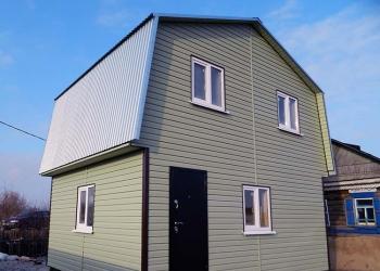 Щитовые одноэтажные и с мансардой дачные домики в Пензе