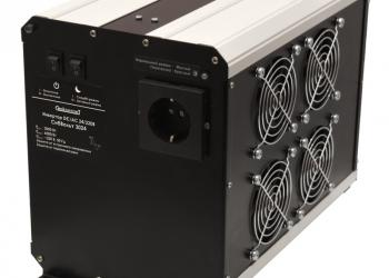 Инвертор 24-220 Вольт, 3000 Вт