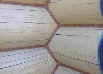 Теплый шов - герметизация деревянных домов