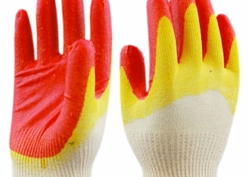 Перчатки с двойным латексным покрытием 13кл. АЛЕНКА ЛЮКС