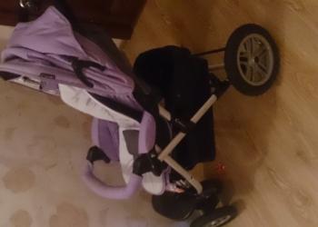 Детская коляска зима-лето