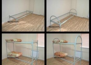 Металлические кровати армейского образца с бесплатной доставкой от производителя