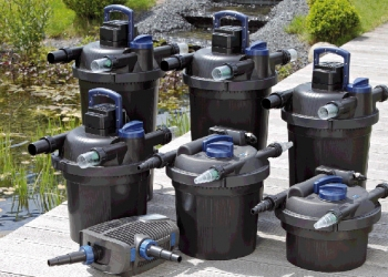 Проточные и напорные фильтры для пруда