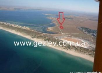 земельный участок на берегу моря в Крыму