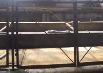 Распашные ворота с калиткой от 9900 руб.