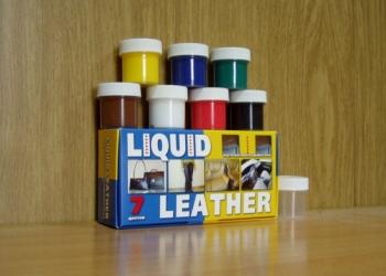 Жидкая кожа для ремонта изделий из кожи своими руками!