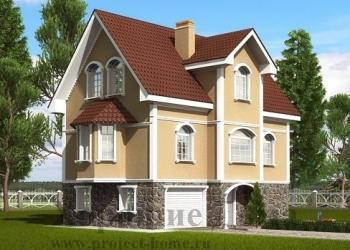 Строительство дома из газобетона 8.7x11.5 192.7 кв.м.