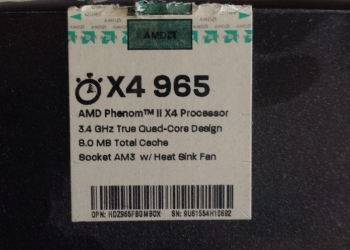 Процессор amd phenom ii x4 965 3.4