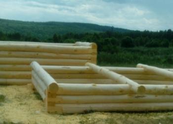 Сруб для бани 3х4, 3х5, 4х6 из осины, доставка, монтаж
