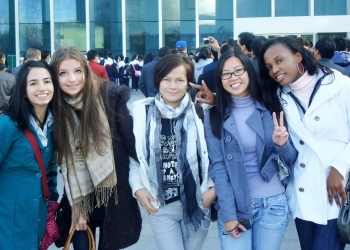 Поступление в университеты КНР