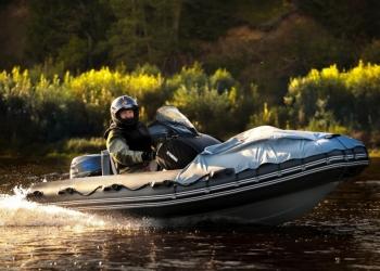 Лодка РИБ Скаут С-380 для туризма