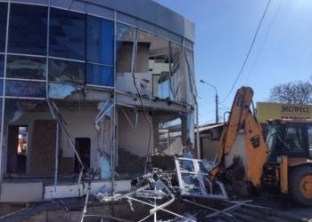 Ликвидация строительных городков, временных построек, демонтаж металлоконструкци